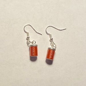 Handmade Cola Earrings